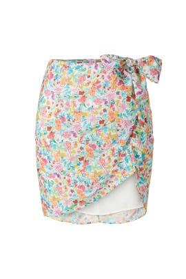 Gilles Mini Skirt by For Love and Lemons