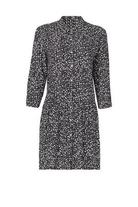 Little Dots Shirt Dress by Nicole Miller