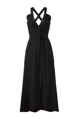 Deep Back Midi Dress by Nina Ricci