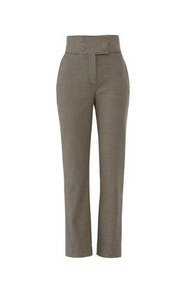 Houndstooth Pants by Rebecca Taylor