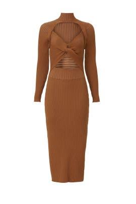 Guadalupe Cutout Knit Dress by AMUR