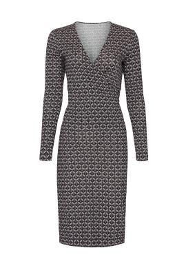Karis Faux Wrap Dress by Diane von Furstenberg