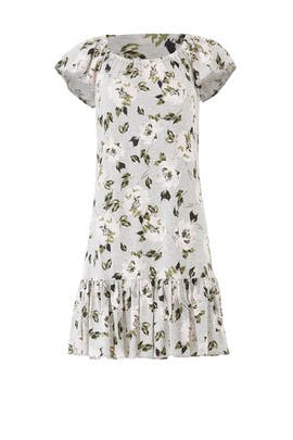 Floral Magnolia Dress by Rebecca Taylor