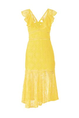 Yellow Leilani Dress by Saylor
