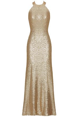 Sequin Veronica Gown By Slate Willow