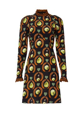 Printed Rosella Dress by Temperley London