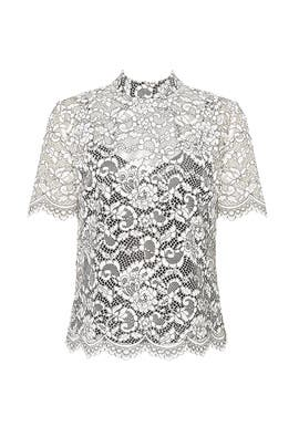 Damita Lace Blouse by Trina Turk