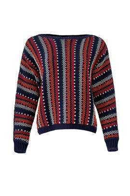 Striped Marlet Sweater by ba&sh