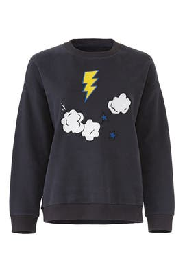 Cloud Sweatshirt by Chinti & Parker