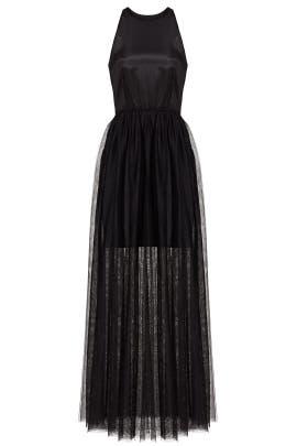 Black Janice Tulle Dress by Line + Dot