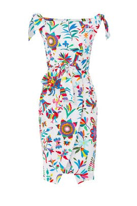 Printed Ellen Dress by Milly
