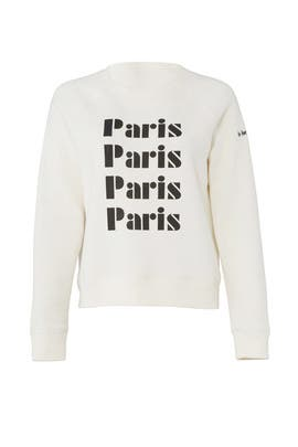 French Terry Sweatshirt by Rebecca Minkoff
