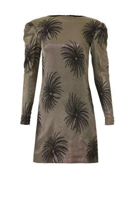 Tuck Shoulder Shift Dress by Victoria Victoria Beckham