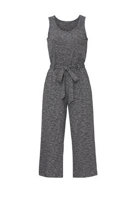 Grey Devin Knit Jumpsuit by B Collection by Bobeau