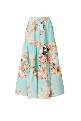 Sage Midi Skirt by Hemant & Nandita