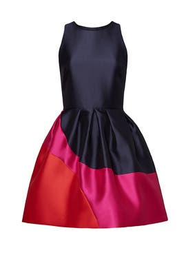 Navy Colorblock Dress by Hutch
