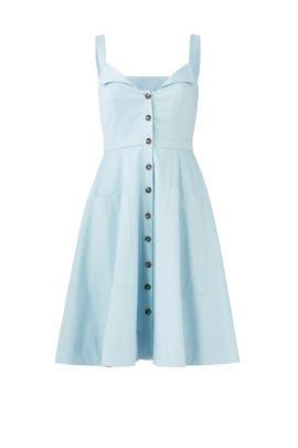 Blue Fara Dress by SALONI