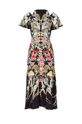 Victory Print Dress by Temperley London