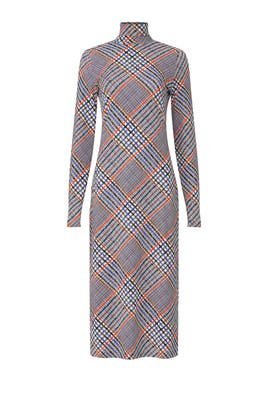 Elette Plaid Dress by Tanya Taylor