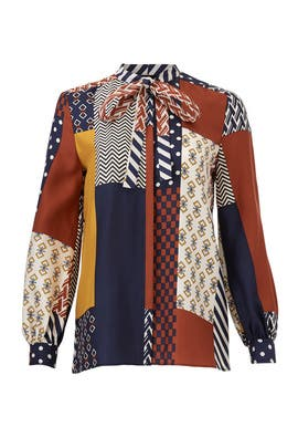Geometric Vivian Top by Tory Burch