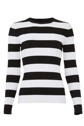 c0b4dba9de Cynthia Rowley Striped Haven Ribbed Sweater