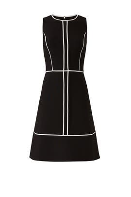 Paneled Crepe Dress by kate spade new york