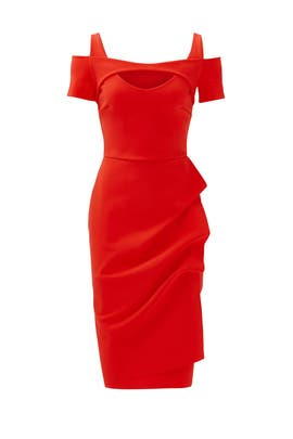 083838814ace Red Jodilin Sheath by La Petite Robe di Chiara Boni for  125