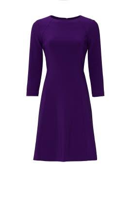 Purple Greer Dress by Lauren Ralph Lauren