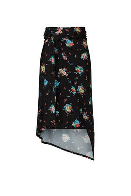 Floral Jupe Skirt by Paco Rabanne