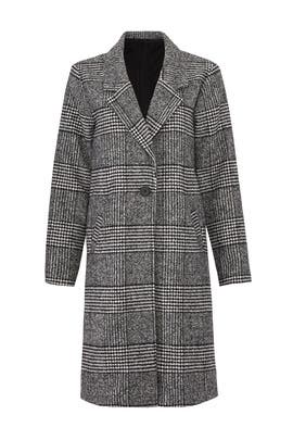 Exotic Check Coat by Shilla