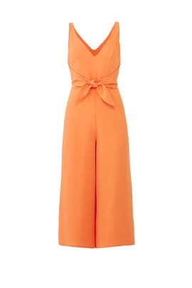 Orange Charter Jumpsuit by Amanda Uprichard