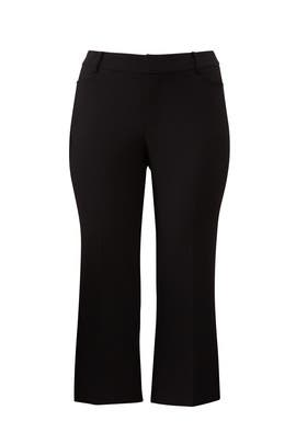 Cropped Kick Flare Trousers by ELOQUII