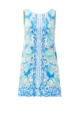 Blue Shell Shift by Lilly Pulitzer