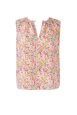 Margo Floral Top by Rebecca Taylor