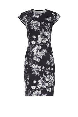 Floral Jacquard Sheath by Sachin & Babi