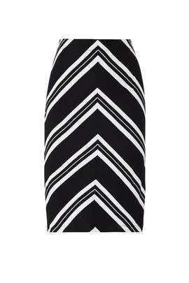 Ashby Stripe Skirt by Trina Turk