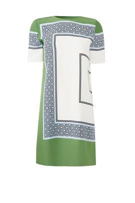 Green Mallory Dress by Tory Burch