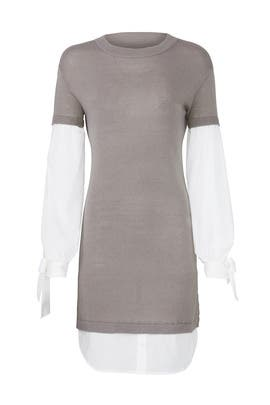 Grey Flare Dress by devlin