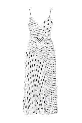 Multi Polka Dot Dress by Jill Jill Stuart