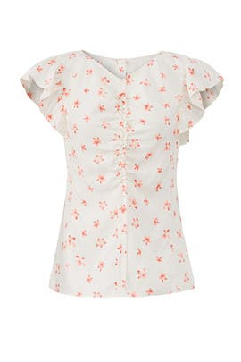 Maui Floral Top by Rebecca Taylor