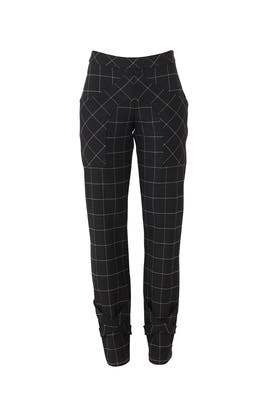 Windowpane Hans Trousers by Snider