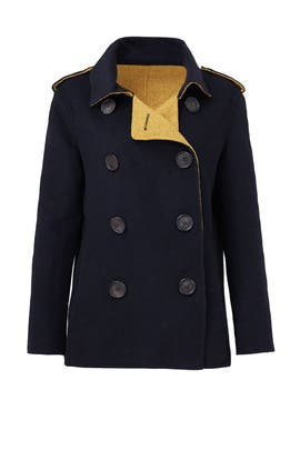 Seaside Pea Coat by Derek Lam 10 Crosby