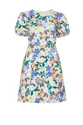 7501856bb3 Printed Puff Sleeve Dress by ELOQUII for  30