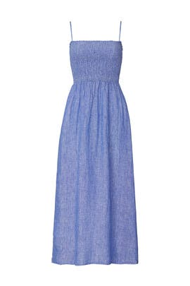 Square Neck Plaza Dress by Joie