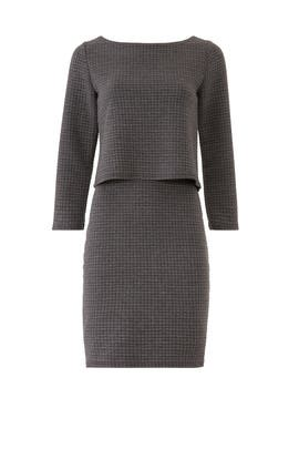 Quilted Knit Popover Dress by Leota