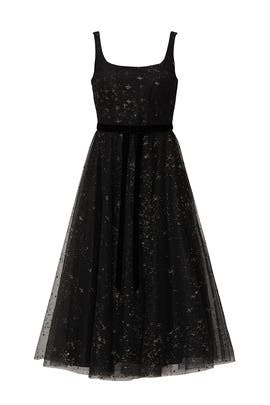 Silver Star Tulle Dress by Marchesa Notte