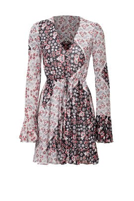 Flower Print June Dress by Rebecca Minkoff