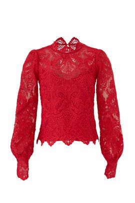 Lace Norma Top by Saylor
