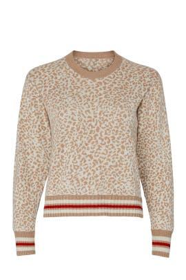 Leo Leopard Pullover by Splendid