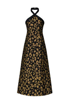 Josie Leopard Dress by Temperley London